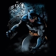 Batman Juniors T-Shirt - Light Of The Moon Black Tee