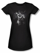 Batman Juniors T-Shirt - Materialized Black Tee