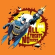 Batman Kids T-Shirt - All Treats Youth Orange Tee