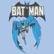 Batman Kids T-Shirt - Batman #241 Cover Youth Light Blue Tee