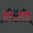 Batman Kids T-Shirt - Dark Detective Youth Charcoal Tee