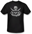 Batman Kids T-Shirt - Dark Pirate Youth Black Tee