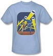 Batman Kids T-Shirt - Detective #164 Cover Youth Light Blue Tee
