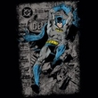 Batman Kids T-Shirt - Detective #487 Distress Youth Black Tee