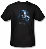 Batman Kids T-Shirt - Don't Mess With The Bat Youth Black Tee