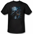 Batman Kids T-Shirt - Light Of The Moon Youth Black Tee