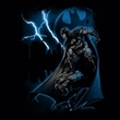 Batman Kids T-Shirt - Lightning Strikes Youth Black Tee