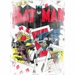 Batman Kids T-Shirt - Number 11 Distressed Youth White Tee