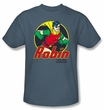 Batman Kids T-Shirt - Robin The Boy Wonder Youth Slate Blue Tee