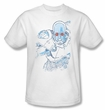 Batman Kids T-Shirt - Snowblind Freeze Youth White Tee