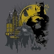 Batman Kids T-Shirt - The Dark City Youth Charcoal Gray Tee