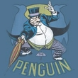 Batman Kids T-Shirt - The Penguin Youth Slate Blue Tee