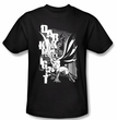 Batman Kids T-Shirt - Vertical Letters Youth Black Tee