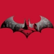 Batman T-Shirt – Arkham City In The City Adult Red Tee