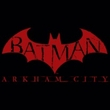 Batman T-Shirt - Arkham City Red Bat Adult Black Tee