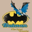 Batman T-Shirt - Caped Crusader Adult Khaki Tee