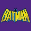 Batman T-Shirt - Classic Batman Logo Adult Purple Tee