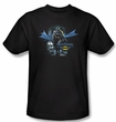 Batman T-Shirt - From The Depths Adult Black Tee