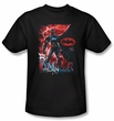 Batman T-Shirt - Gotham Reign Adult Black Tee