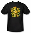 Batman T-Shirt - Halloween Knight Sounds Adult Black Tee