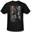 Batman T-Shirt - Running The Asylum Adult Black
