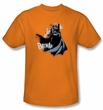 Batman T-Shirt - The Drip Knight Adult Orange Tee