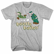 Beetle Bailey Shirt Yelled At Athletic Heather T-Shirt