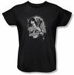 Betty Bettie Page Ladies Shirt Remember Black T-shirt