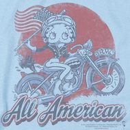 Betty Boop All American Biker Shirts