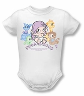 Betty Boop Baby Romper Infant Creeper Peek A Boo White