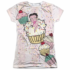 Betty Boop Cake Boop Sublimation Juniors Shirt