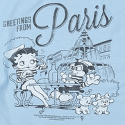 Betty Boop Greetings From Paris Shirts