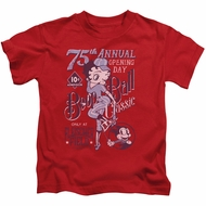 Betty Boop Kids Shirt Boop Ball Red T-Shirt