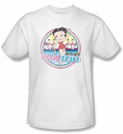 Betty Boop Kids T-shirt Miami Beach Youth White Tee Shirt