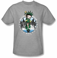 Betty Boop Kids T-shirt NYC Youth Athletic Heather Tee Shirt