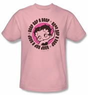 Betty Boop Kids T-shirt Oop A Doop Youth Pink Tee Shirt
