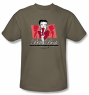 Betty Boop Kids T-shirt Timeless Beauty Youth Safari Green Tee Shirt