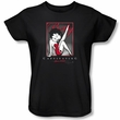 Betty Boop Ladies T-shirt Captivating Black Tee Shirt