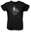 Betty Boop Ladies T-shirt Storm Rider Black Tee Shirt