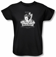 Betty Boop Ladies T-shirt Street Angel Black Tee Shirt