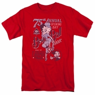 Betty Boop Shirt Boop Ball Red Tee T-Shirt