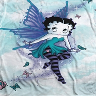 Betty Boop Sparkle Fairy Sublimation Shirts