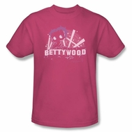 Betty Boop T-shirt Bettywood Adult Hot Pink Tee