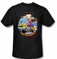 Betty Boop T-shirt Keep On Boopin Adult Black Tee Shirt