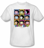 Betty Boop T-shirt Shes Got The Look Adult White Tee Shirt