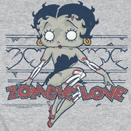 Betty Boop Zombie Pinup Shirts