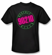 Beverly Hills 90210 Kids T-shirt Neon Logo Youth Black Tee Shirt