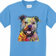 Beware of Pit Bulls Kids Shirts