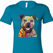 Beware of Pit Bulls Ladies Shirts