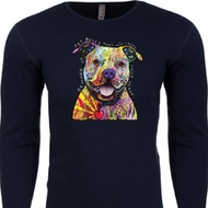 Beware of Pit Bulls Long Sleeve Thermal Shirt